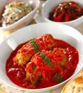 「トマト味のロールキャベツ」の献立