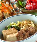 「肉豆腐•京風」の献立