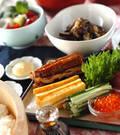 「いろいろ手巻き寿司」の献立