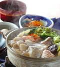 「熱々海鮮鍋」の献立