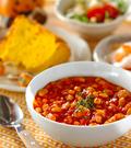 「大豆でチリコンカン」の献立