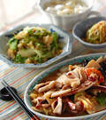 「イカと野菜の中華炒め」の献立