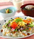 「ひな祭りのちらし寿司」の献立