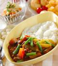 「野菜たっぷりカレー」の献立