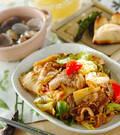 「豚肉の甘酢炒め」の献立