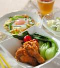 「鶏手羽元のサッパリ煮」の献立