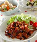 「薄切り豚肉のショウガ炒め」の献立