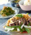 「牛肉の冷しゃぶサラダ仕立て」の献立