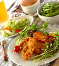 「鶏むね肉のチキンカツ」の献立
