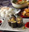 「そば巻き寿司」の献立
