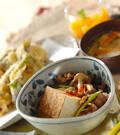 「牛肉豆腐」の献立