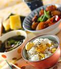 「秋の定番!もち米入り栗ご飯」の献立