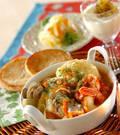 「魚介のスープ」の献立