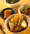 「揚げジャガイモのピリ辛煮」の献立