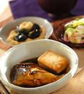 「豆腐入りカレイの煮付け」の献立