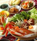 「カニ鍋」の献立