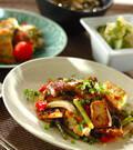 「ウナギと豆腐の甘辛炒め煮」の献立