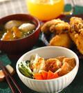 「厚揚げと野菜の煮物」の献立