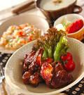 「骨付き豚バラ肉のママレード煮」の献立