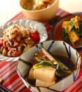 「イワシのショウガ煮豆腐添え」の献立