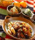 「鶏肉の甘辛煮」の献立