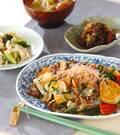 「豆腐の炒め煮」の献立