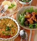 「大和芋のグラタン」の献立