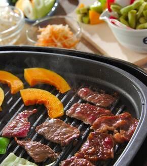 牛肉の漬け焼きの献立