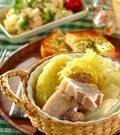 「春キャベツと豚バラのトロトロ煮込み」の献立