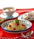 「トマトとホタテの冷製カッペリーニ」の献立