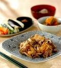 「キノコと豆腐のチャンプルー」の献立
