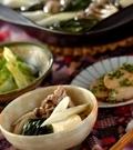 「豚とホウレン草の塩鍋」の献立