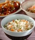「干しエビとネギの炊き込みご飯」の献立
