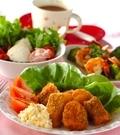 「白身魚のフライタルタル添え」の献立
