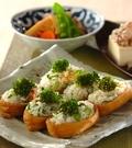 「菜の花と干しエビのいなり寿司」の献立