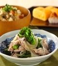 「豚と菜の花のサッパリ煮」の献立