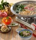 「豚肉の豆乳中華鍋」の献立