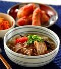 「沖縄風肉うどん」の献立