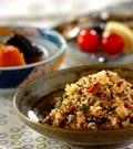 「ヒジキと納豆のチャーハン」の献立