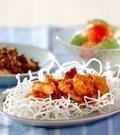 「海鮮チリ炒め」の献立
