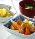 「鶏ジャガの塩煮」の献立