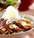「和風ステーキ丼」の献立