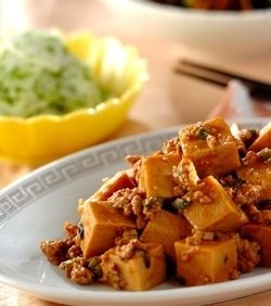 高野豆腐de麻婆