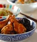 「鶏手羽元のプルーン煮」の献立