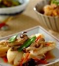 「白身魚の野菜あん」の献立