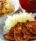 「豚のカレーショウガ焼き」の献立