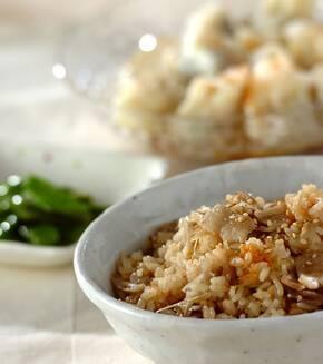 中華風炊き込みご飯の献立