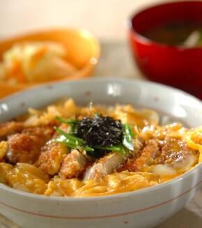 本当に美味しい定番のカツ丼 by岡本 由香梨さんの献立