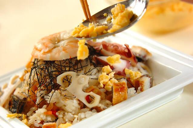 豪華ちらし寿司の作り方の手順12
