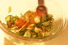 夏野菜のビビンバの作り方の手順3